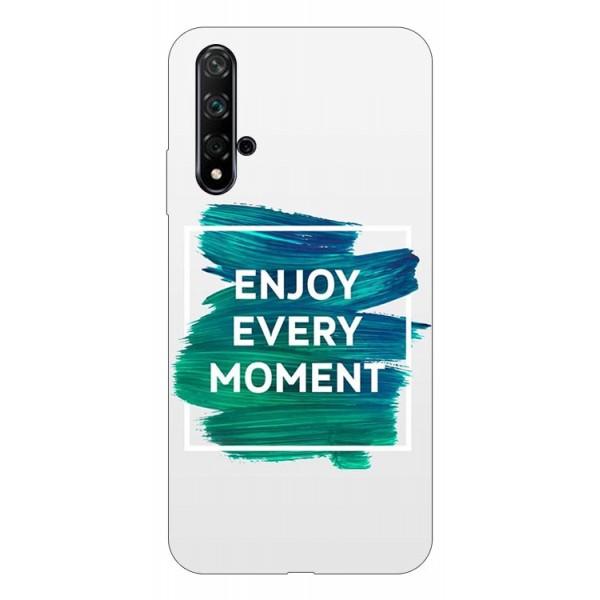 Husa Silicon Soft Upzz Print Huawei Nova 5t Model Enjoy imagine itelmobile.ro 2021