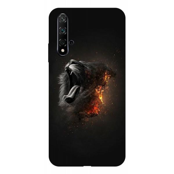 Husa Silicon Soft Upzz Print Huawei Nova 5t Model Lion imagine itelmobile.ro 2021