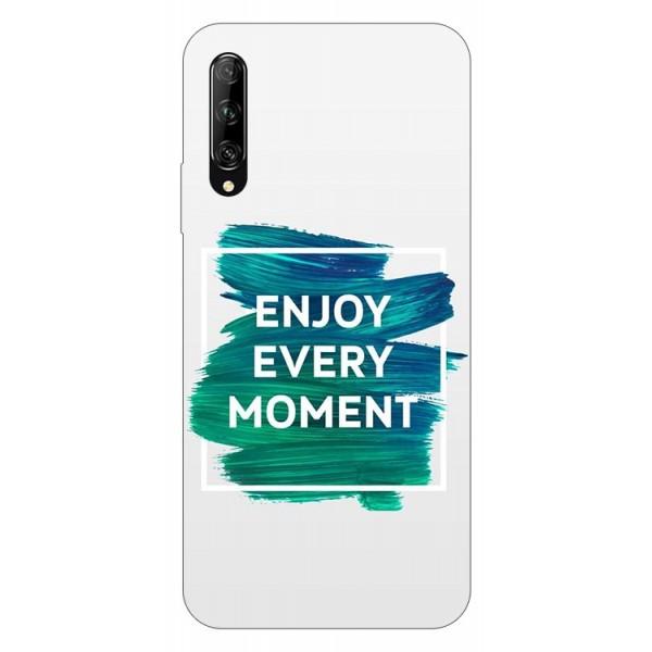 Husa Silicon Soft Upzz Print Huawei P Smart Pro 2019 Model Enjoy imagine itelmobile.ro 2021