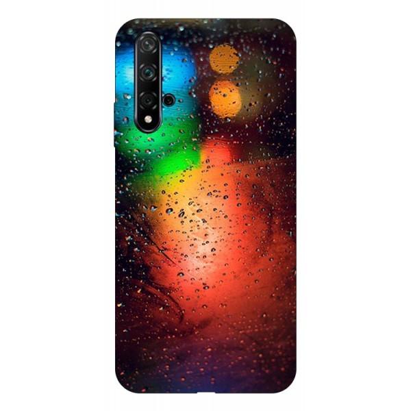 Husa Silicon Soft Upzz Print Huawei Nova 5t Model Multicolor imagine itelmobile.ro 2021