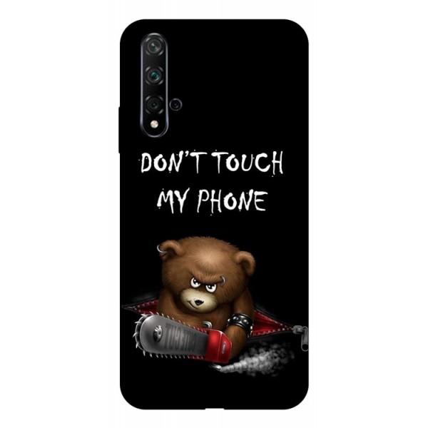 Husa Silicon Soft Upzz Print Huawei Nova 5t Model My Phone 2 imagine itelmobile.ro 2021