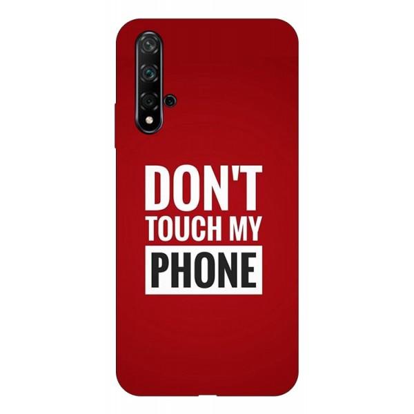 Husa Silicon Soft Upzz Print Huawei Nova 5t Model My Phone imagine itelmobile.ro 2021