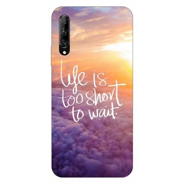 Husa Silicon Soft Upzz Print Huawei P Smart Pro 2019 Model Life imagine itelmobile.ro 2021
