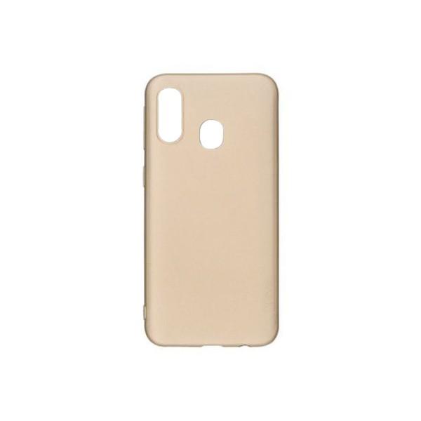 Husa Ultra Slim Pro Guardian X-level Samsung Galaxy A30 Silicon Gold imagine itelmobile.ro 2021