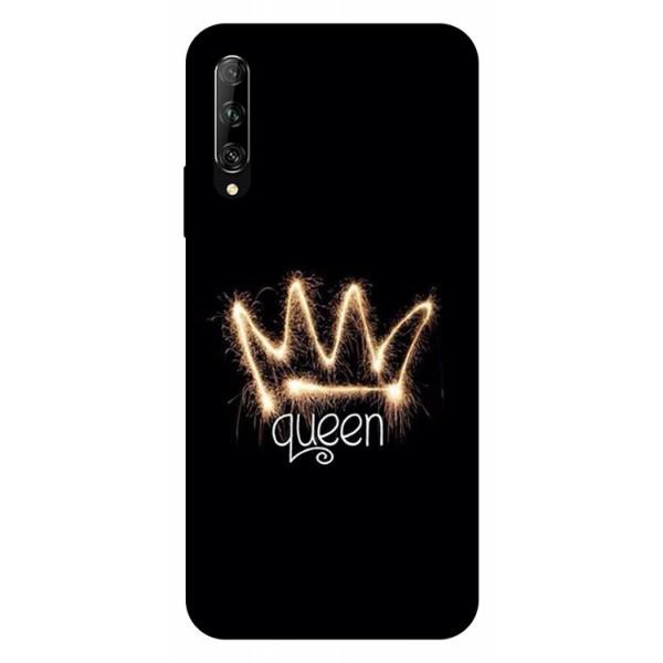 Husa Silicon Soft Upzz Print Huawei P Smart Pro 2019 Model Queen imagine itelmobile.ro 2021