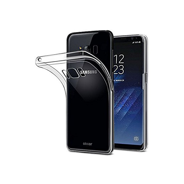 Husa Ultra Slim 0.3mm Upzz Samsung S8 Plus Transparenta