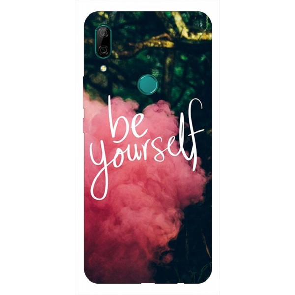 Husa Silicon Soft Upzz Print Huawei P Smart Z Model Be Yourself imagine itelmobile.ro 2021