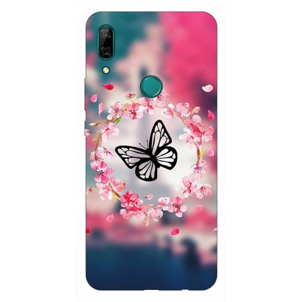 Husa Silicon Soft Upzz Print Huawei P Smart Z Model Butterfly imagine itelmobile.ro 2021