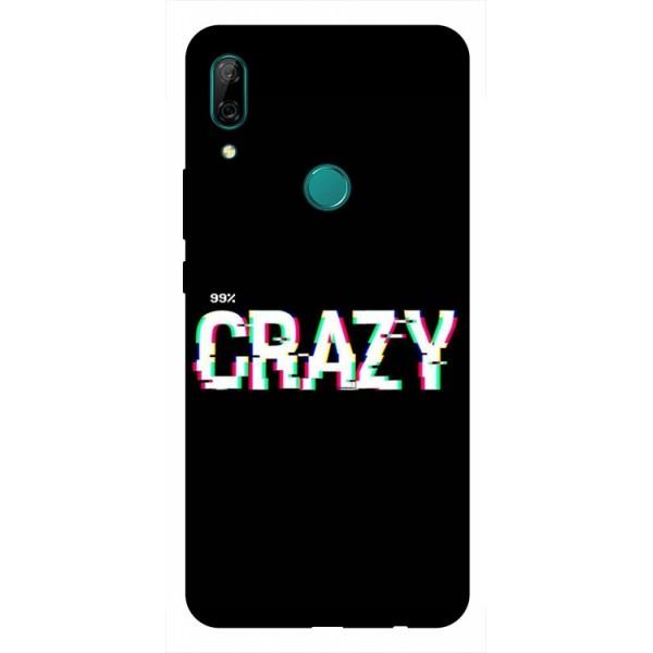 Husa Silicon Soft Upzz Print Huawei P Smart Z Model Crazy imagine itelmobile.ro 2021