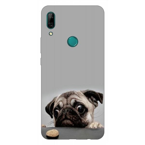 Husa Silicon Soft Upzz Print Huawei P Smart Z Model Dog imagine itelmobile.ro 2021