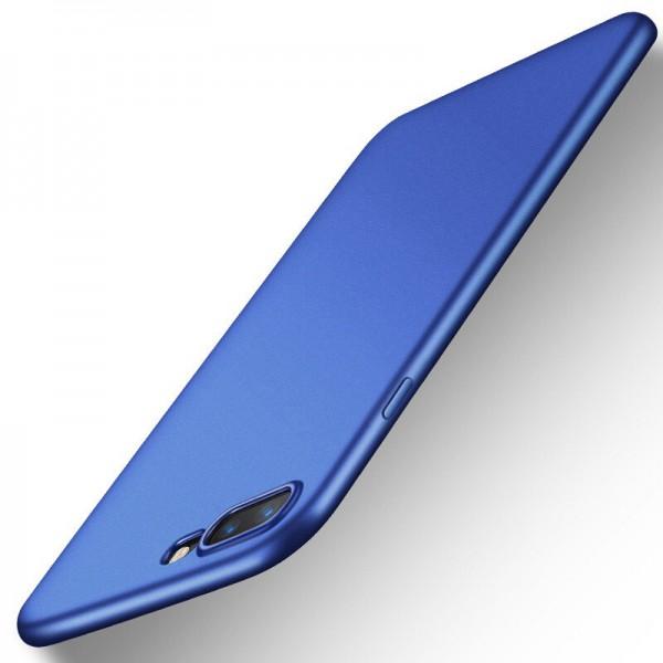 Husa Lux Soft Silicon Upzz iPhone 7 Plus Blue imagine itelmobile.ro 2021