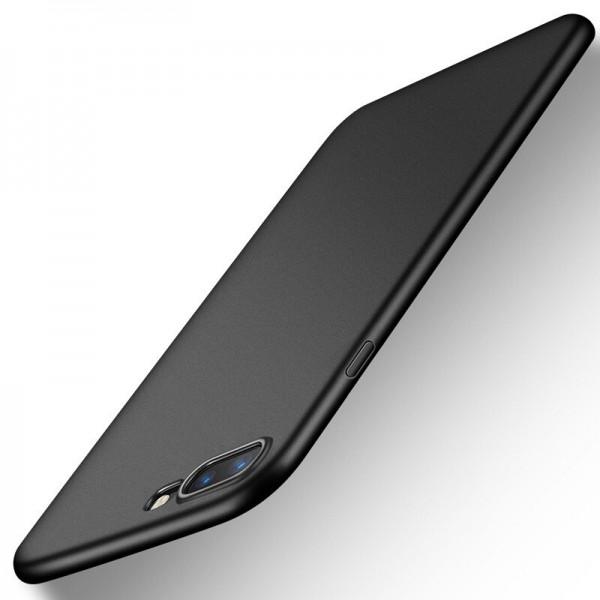 Husa Lux Soft Silicon Upzz iPhone 7 Plus Black imagine itelmobile.ro 2021