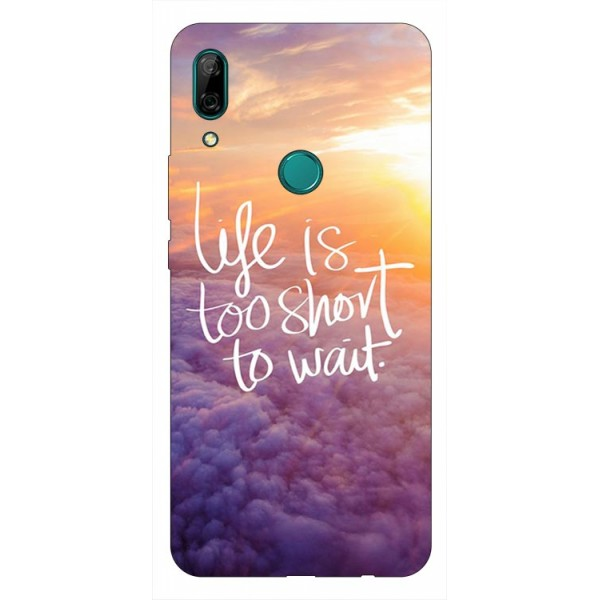 Husa Silicon Soft Upzz Print Huawei P Smart Z Model Life imagine itelmobile.ro 2021