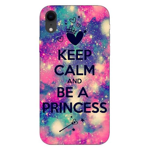 Husa Silicon Soft Upzz Print iPhone Xr Model Be Princess imagine itelmobile.ro 2021
