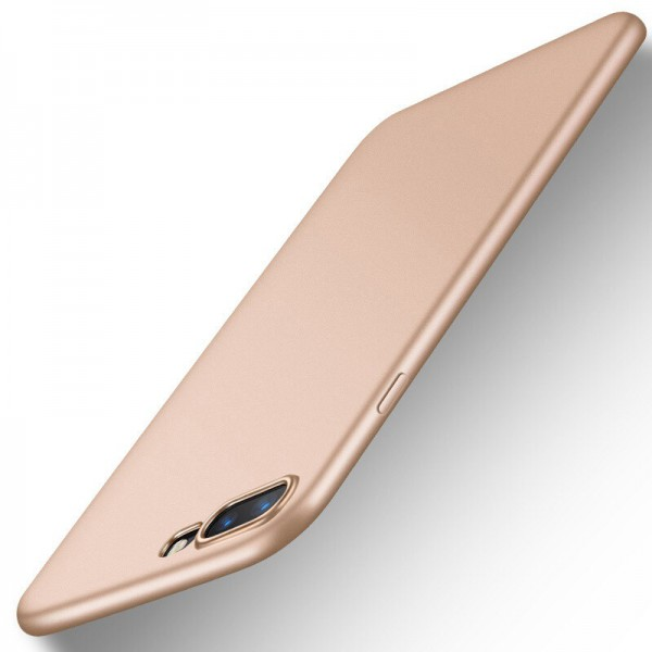 Husa Lux Soft Silicon Upzz iPhone 7 Plus Gold