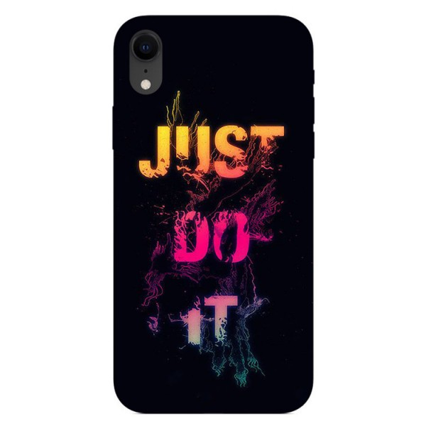 Husa Silicon Soft Upzz Print iPhone Xr Model Jdi imagine itelmobile.ro 2021