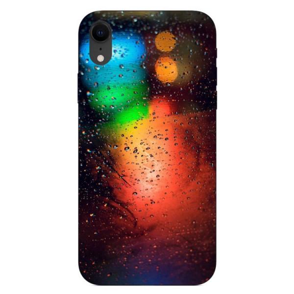 Husa Silicon Soft Upzz Print iPhone Xr Model Multicolor imagine itelmobile.ro 2021