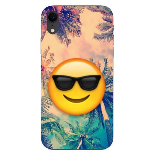 Husa Silicon Soft Upzz Print iPhone Xr Model Smile imagine itelmobile.ro 2021