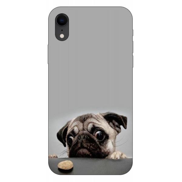 Husa Silicon Soft Upzz Print iPhone Xr Model Dog imagine itelmobile.ro 2021