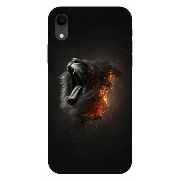 Husa Silicon Soft Upzz Print iPhone Xr Model Lion imagine itelmobile.ro 2021
