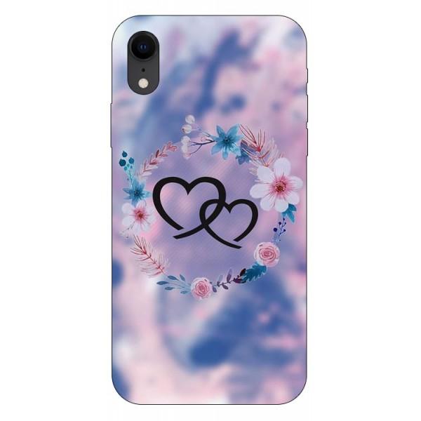 Husa Silicon Soft Upzz Print iPhone Xr Model Love imagine itelmobile.ro 2021
