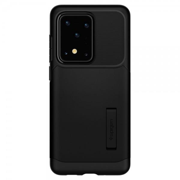 Husa Originala Spigen Slim Armor Samsung Galaxy S20 Ultra ,negru imagine itelmobile.ro 2021