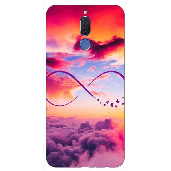 Husa Silicon Soft Upzz Print Huawei Mate 10 Lite Model Infinity imagine itelmobile.ro 2021
