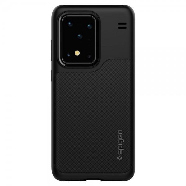 Husa Premium Originala Spigen Hybrid Nx Samsung Galaxy S20 Ultra Black imagine itelmobile.ro 2021