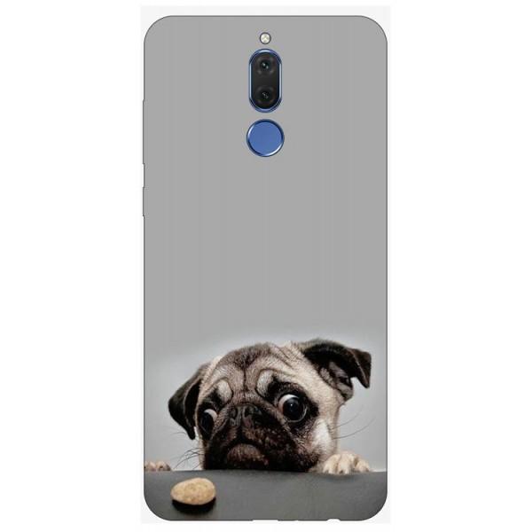 Husa Silicon Soft Upzz Print Huawei Mate 10 Lite Model Dog imagine itelmobile.ro 2021