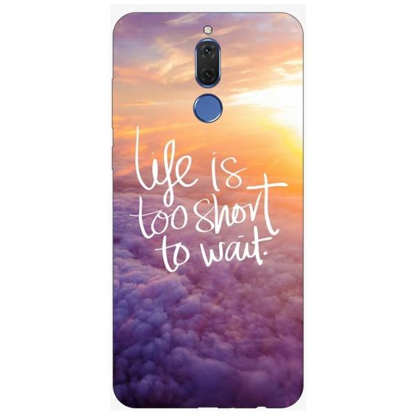 Husa Silicon Soft Upzz Print Huawei Mate 10 Lite Model Life imagine itelmobile.ro 2021