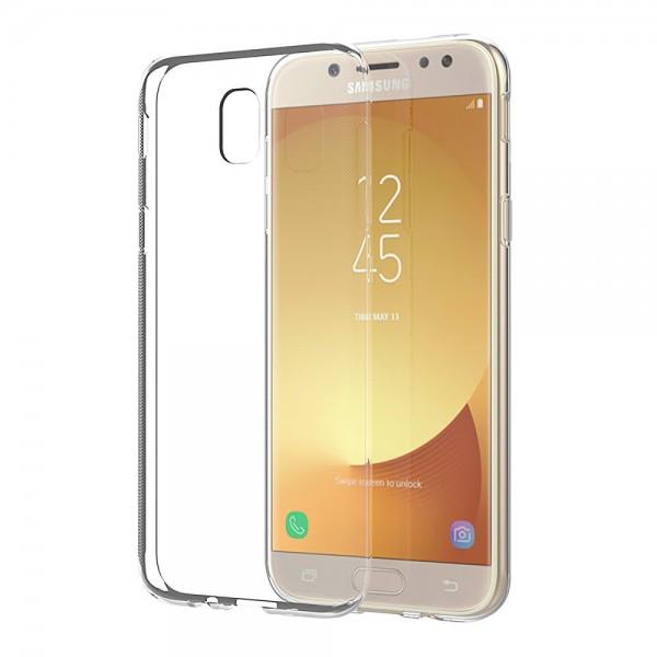 Husa Ultra Slim 0.3mm Upzz Samsung J7 2017 Transparenta imagine itelmobile.ro 2021