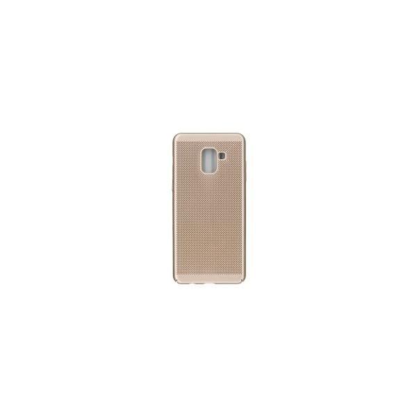 Husa Lux Hard Ultra Slim Air-up Samsung J6 2018 Gold imagine itelmobile.ro 2021