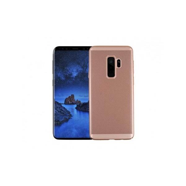 Husa Lux Hard Ultra Slim Air-up Samsung A6 2018 Rose Gold imagine itelmobile.ro 2021