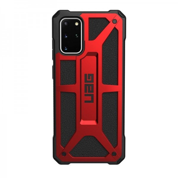 Husa Originala Premium Uag Monarch Pentru Samsung Galaxy S20, Rosu imagine itelmobile.ro 2021