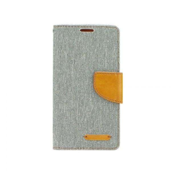 Husa Flip Carte Fancy Book Huawei Honor 10 Gri-maro imagine itelmobile.ro 2021