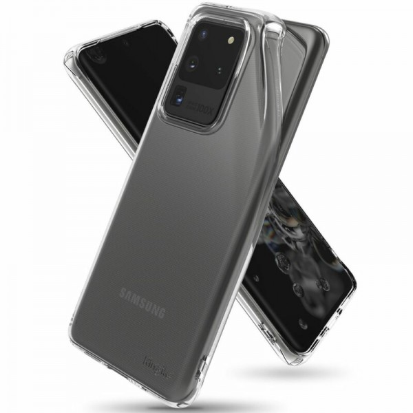 Husa Premium Ringke Air Samsung Galaxy S20 Ultra Transparenta imagine itelmobile.ro 2021