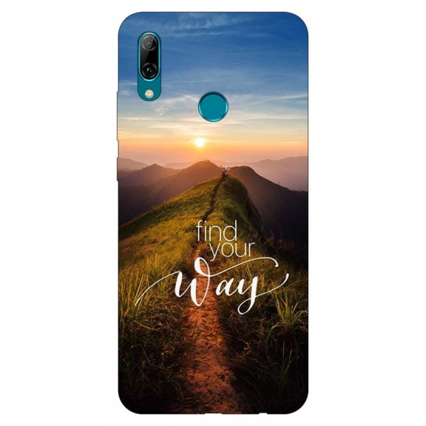 Husa Silicon Soft Upzz Print Huawei P Smart 2019 Model Way imagine itelmobile.ro 2021