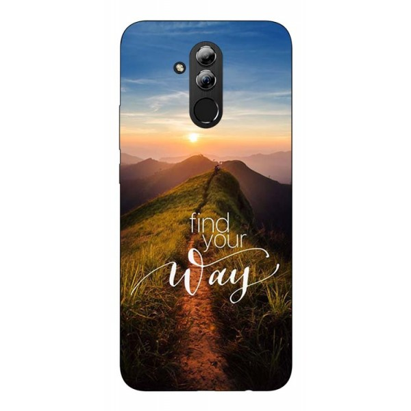 Husa Silicon Soft Upzz Print Huawei Mate 20 Lite Model Way imagine itelmobile.ro 2021