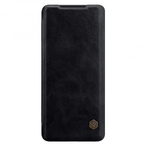 Husa Premium Flip Cover Nillkin Qin Samsung Galaxy S20 Ultra Negru imagine itelmobile.ro 2021