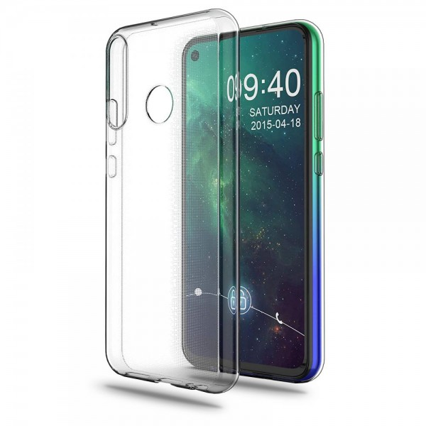 Husa Slim Tech Protect Huawei P40 Lite E Transparenta Slim Silicon imagine itelmobile.ro 2021