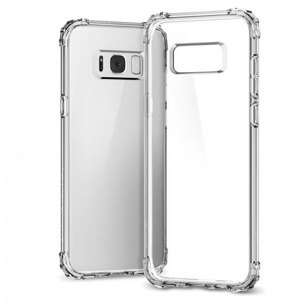 Husa Anti-shock Tpu Silicon Crystal Clear Upzz Samsung S8 Plus Transparenta