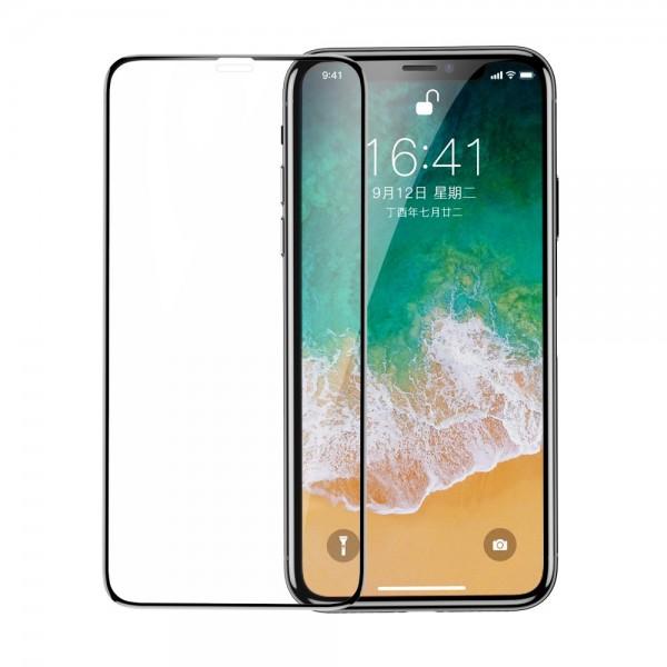 Folie Premium Baseus 3d Full Cover Pentru iPhone 11 Pro / iPhone Xs Cu Adeziv Pe Toata Suprafata-sgapiphx-kc01 imagine itelmobile.ro 2021