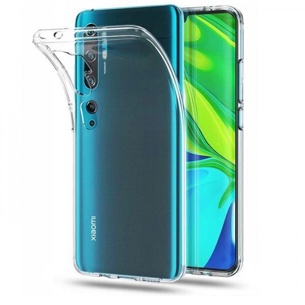 Husa Slim Upzz Xiaomi Mi Note 10/ Mi Note 10 Pro , Transparenta imagine itelmobile.ro 2021
