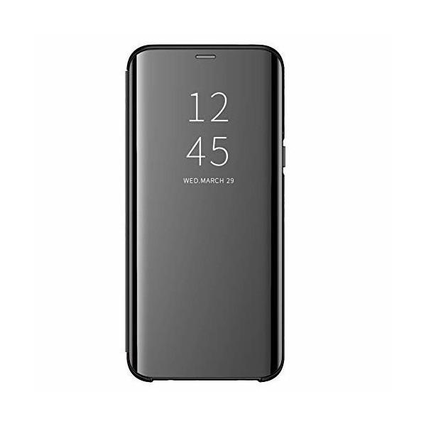 Husa Tip Carte S View Mirror Xiaomi Mi Note 10 / Mi Note 10 Pro Negru imagine itelmobile.ro 2021
