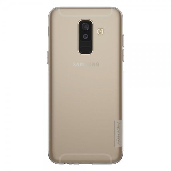 Husa Slim Nillkin Nature Samsung A6+ Plus 2018 Fumurie imagine itelmobile.ro 2021