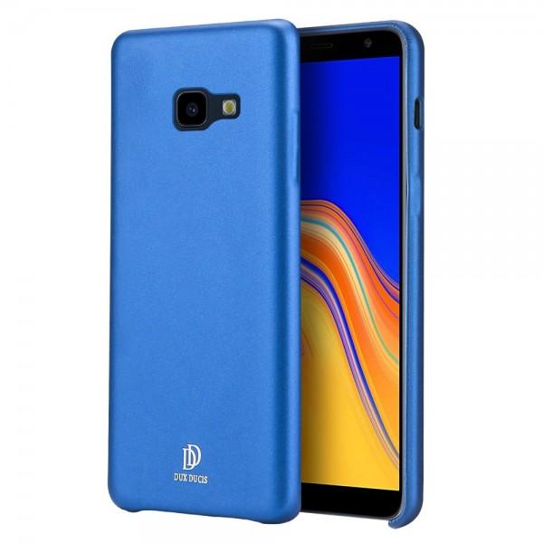 Husa Spate Originala Duxducis Skin Lite Samsung Galaxy J4+ 2018 Piele Albastru imagine itelmobile.ro 2021