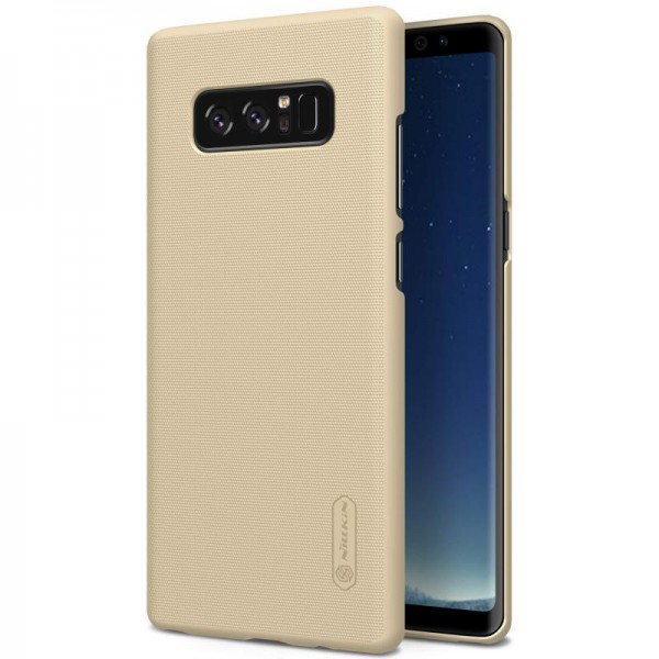 Husa Slim Samsung Note 8 N950f Nillkin Frosted Gold imagine itelmobile.ro 2021
