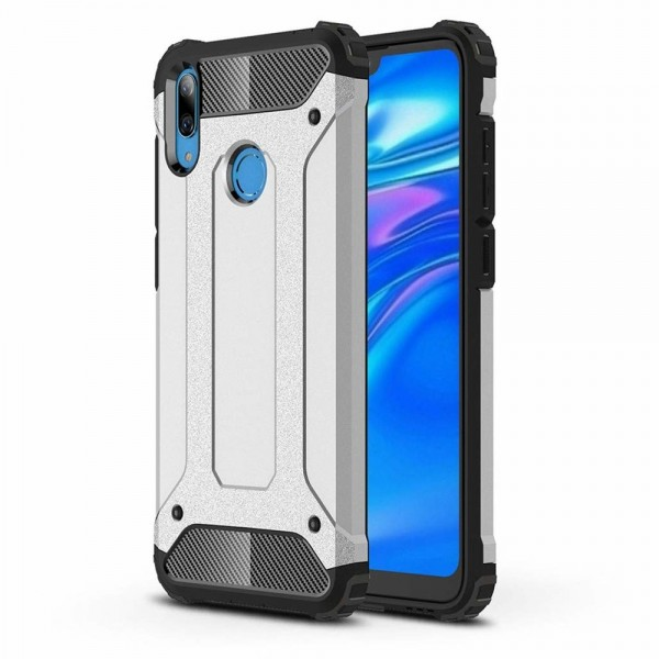 Husa Spate Armor Forcell Huawei Y6 2019 Silver imagine itelmobile.ro 2021