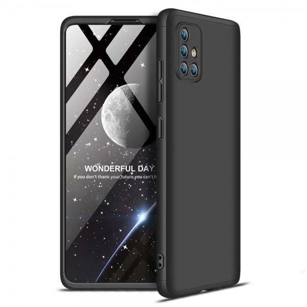 Husa 360 Grade Upzz Protection Samsung Galaxy A71 Negru imagine itelmobile.ro 2021