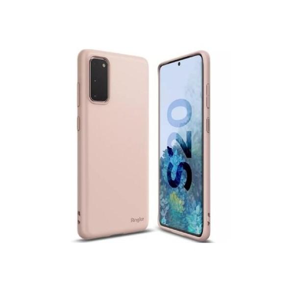 Husa Premium Ringke Air S Pentru Samsung Galaxy S20 ,slim ,silicon, Roz imagine itelmobile.ro 2021
